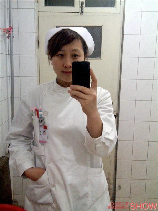 护士求职简历表封面; 2013最美护士show参赛选手:荆秋燕 - 青岛新闻网