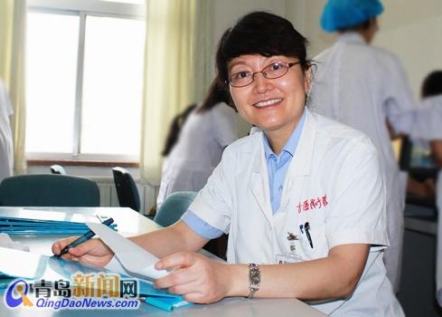 李娜,青岛大学医学院附属医院耳鼻咽喉头颈外科主任,青岛大学医学院耳