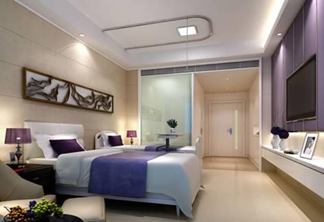 vip病房更是采用主题房设计,优雅地中海,清新田园风,浪漫薰衣草,每一